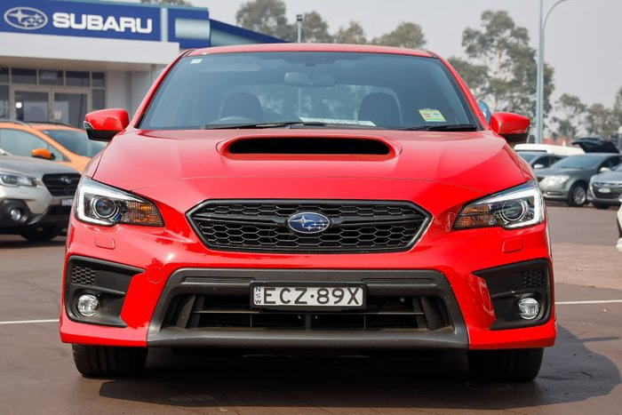 2019 Subaru WRX V1 MY19 Four Wheel Drive Red