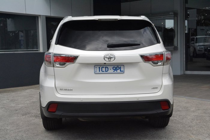 2014 Toyota Kluger GXL GSU55R Four Wheel Drive White