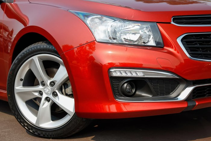 2014 Holden Cruze SRi-V JH Series II MY14 Red