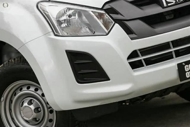 2019 Isuzu D-MAX SX High Ride MY19 SPLASH WHITE