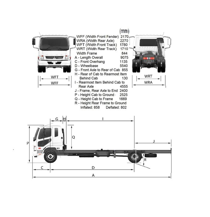 2019 FUSO FIGHTER 1427 MAN +2 YEAR FREE SERVICING 2019 PLATED TRUCKS* null null White