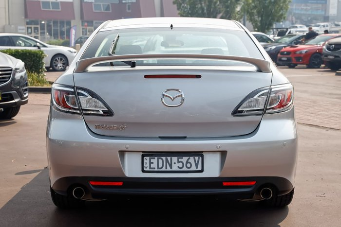 2012 Mazda 6 Touring GH Series 2 MY12 Silver