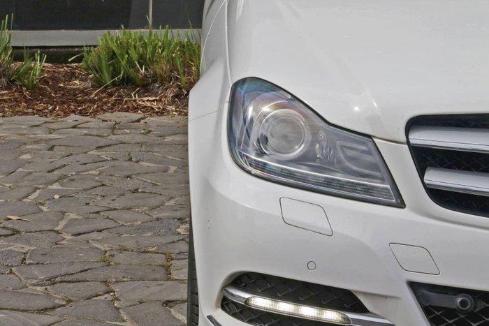 2013 Mercedes-Benz C-Class C250 CDI C204 MY13 White