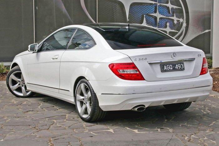 2013 Mercedes-Benz C-Class C250 C204 MY13 White