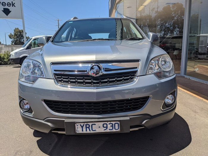 2011 Holden Captiva 5 CG Series II 4X4 On Demand Grey