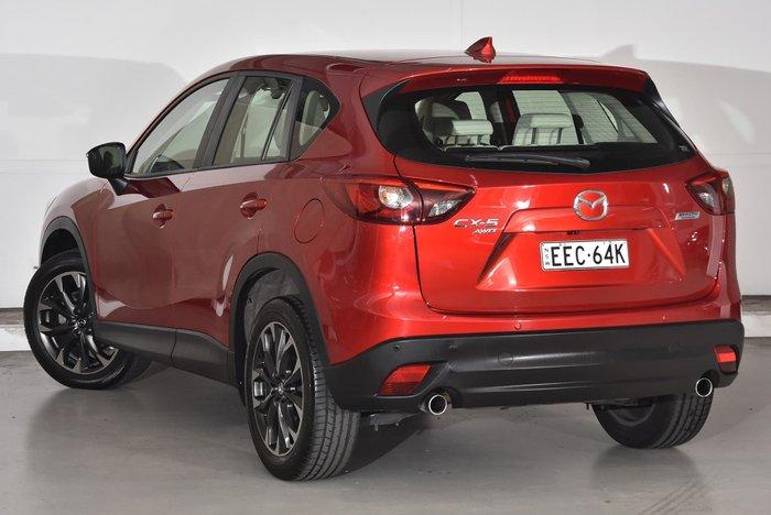 2015 Mazda CX-5 Grand Touring KE Series 2 4X4 On Demand Red
