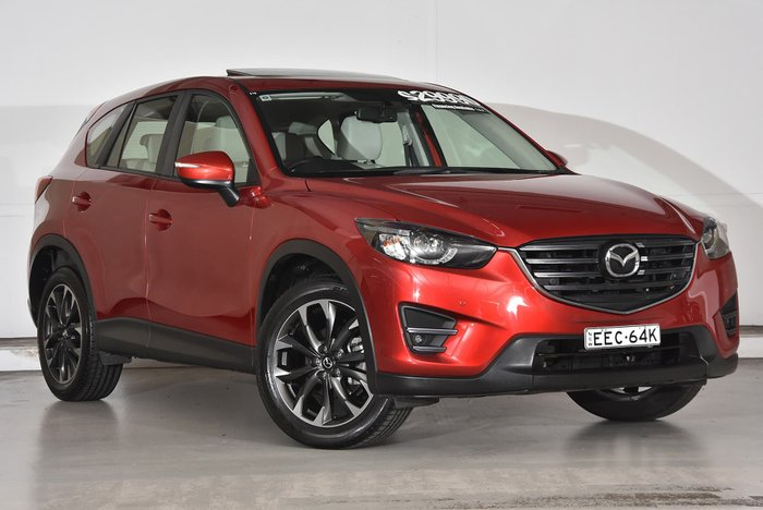 2015 Mazda CX-5 Grand Touring KE Series 2 4X4 On Demand Red