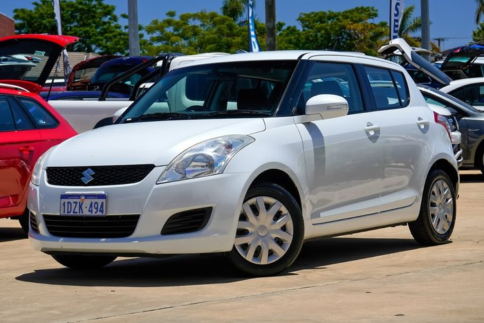 2012 Suzuki Swift GL FZ WHITE