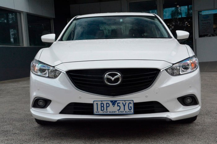 2014 Mazda 6 Touring GJ MY14 White
