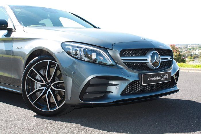2019 Mercedes-Benz C-Class C43 AMG W205 Four Wheel Drive Grey
