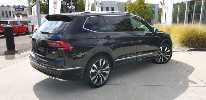 2019 Volkswagen Tiguan 162TSI Highline Allspace 5N MY20 Four Wheel Drive Black