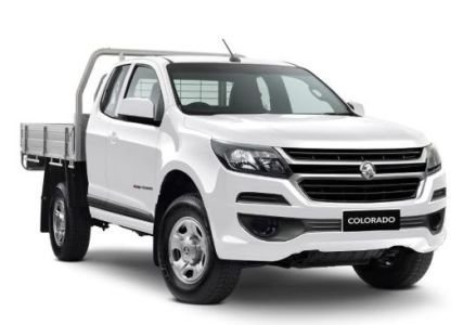 2019 HOLDEN COLORADO 4X4 SP/CAB CHAS LS AUTO 2.8L TD Summit White