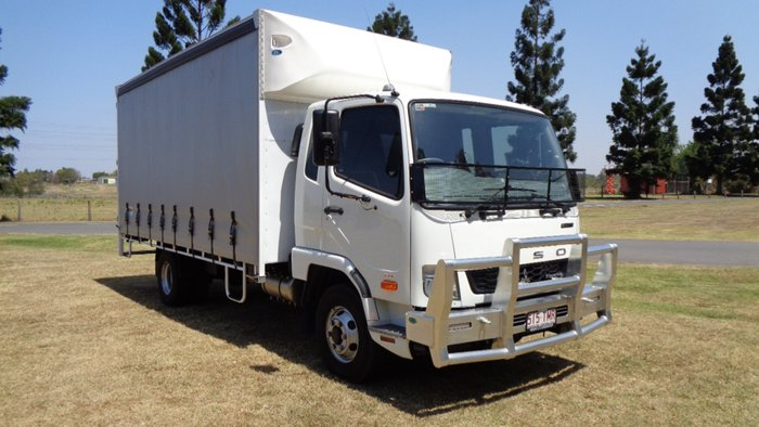 2014 Fuso Fighter 1024 White