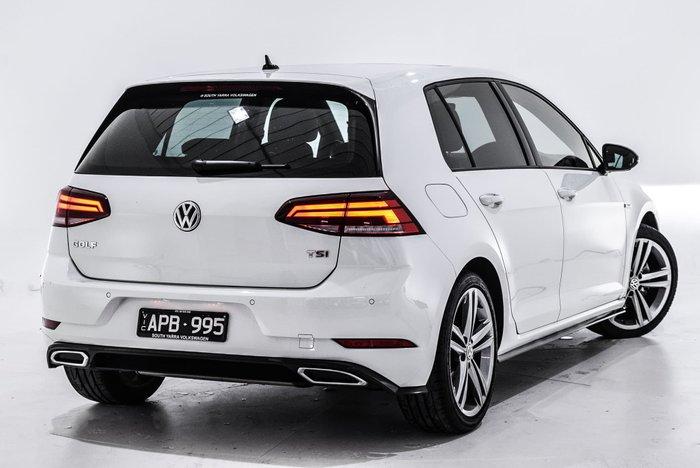 2017 Volkswagen Golf 110TSI Highline 7.5 MY18 White