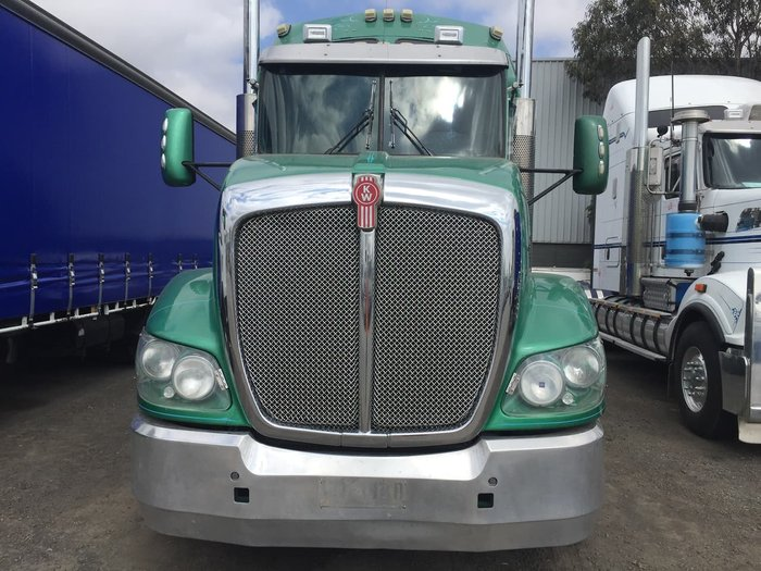 2012 KENWORTH T409 null null Green
