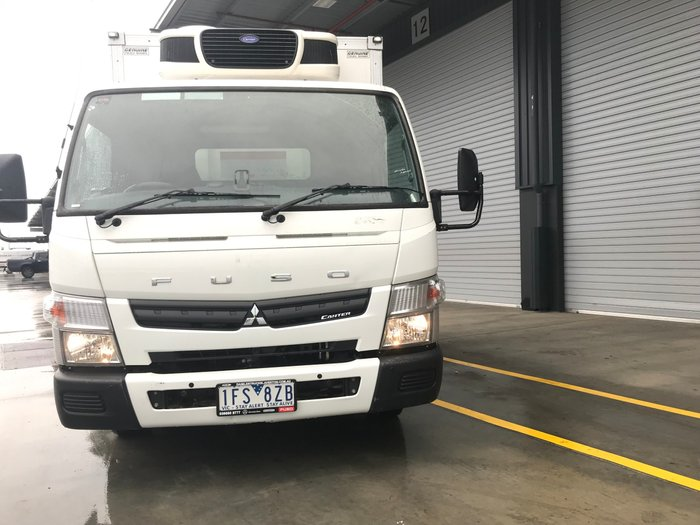 2016 Fuso Canter 515 A/T - PANTECH REFRIGERATED WHITE