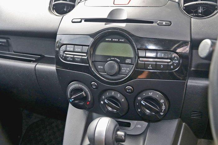 2012 Mazda 2 Neo DE Series 2 MY12 Silver