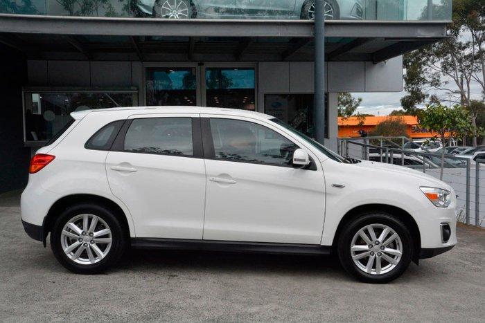2014 Mitsubishi ASX XB MY14 White