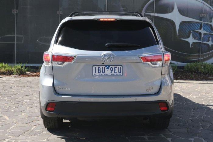 2014 Toyota Kluger GX GSU50R Silver