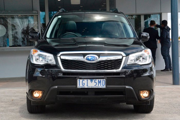 2015 Subaru Forester 2.0D-S S4 MY15 Four Wheel Drive Black