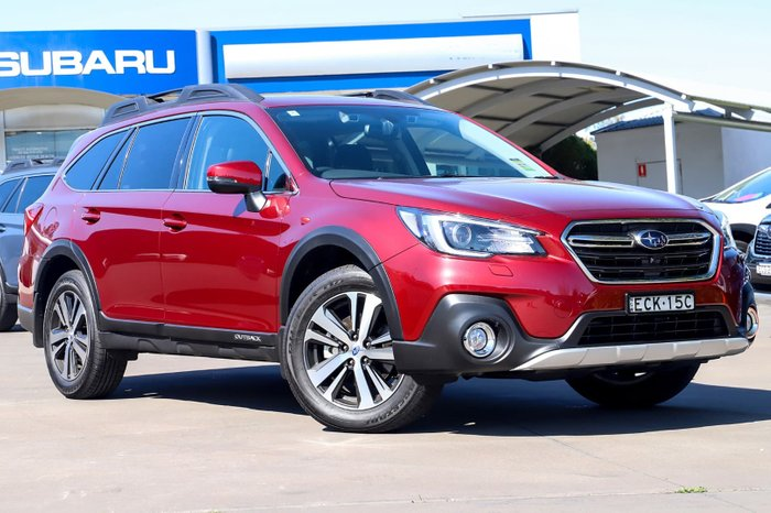 2018 Subaru Outback 2.5i Premium 5GEN MY19 Four Wheel Drive Red