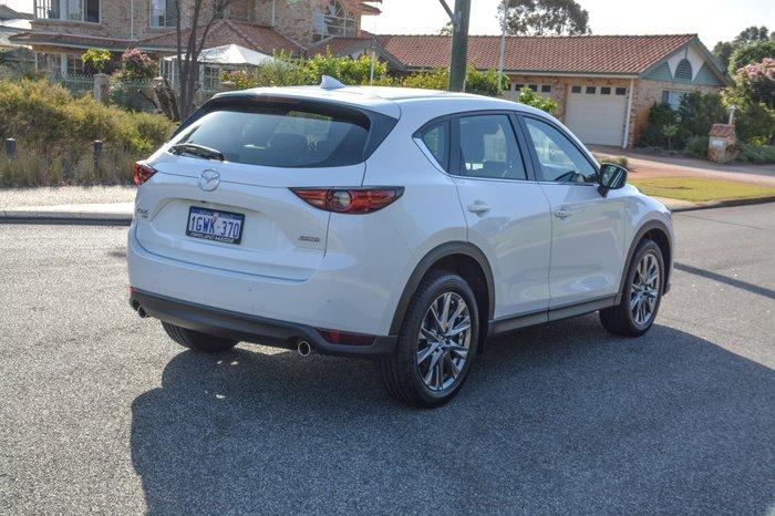 2019 Mazda CX-5 Akera KF Series 4X4 On Demand Snowflake White Pearl