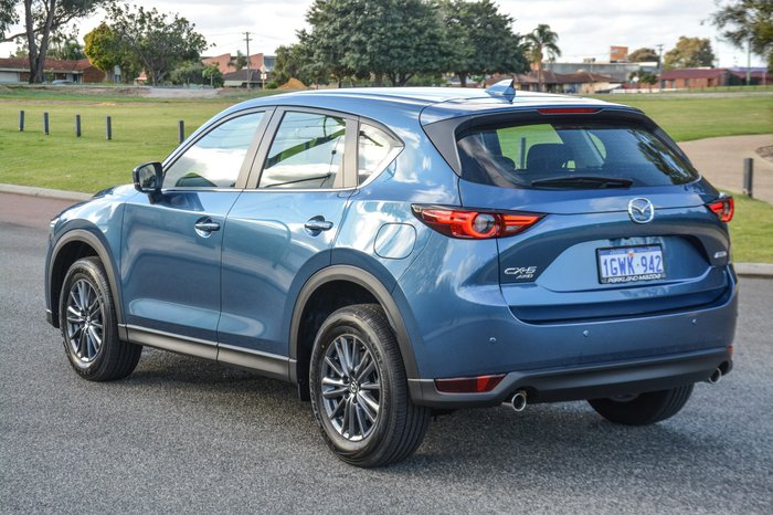 2019 Mazda CX-5 Touring KF Series 4X4 On Demand Blue