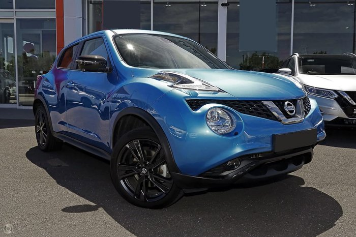2018 Nissan JUKE Ti-S F15 Series 2 4X4 On Demand Blue