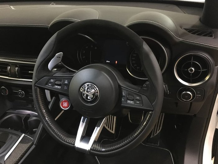 2019 Alfa Romeo Stelvio Quadrifoglio (No Series) 4X4 On Demand White