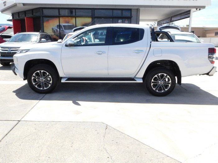 2019 Mitsubishi Triton GLS Premium Double Cab Pick Up 4WD MR White Diamond