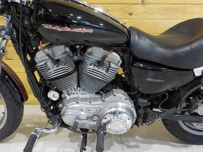 2007 Harley-davidson XL883 SPORTSTER BLACK
