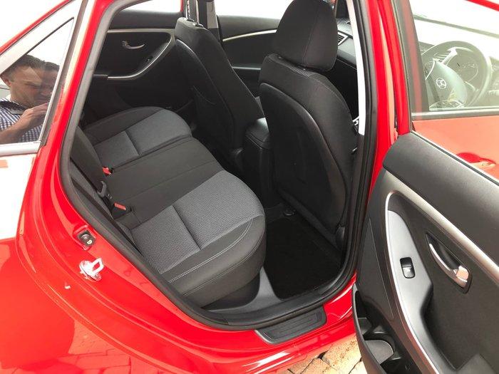 2012 Hyundai i30 Active GD Red