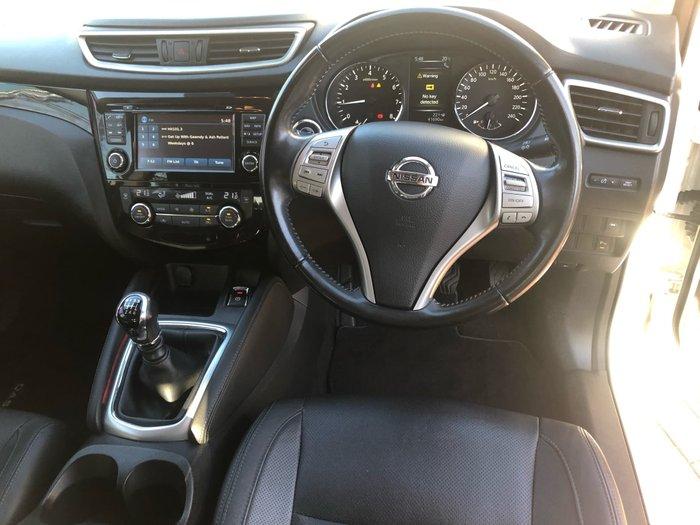 2015 Nissan QASHQAI Ti J11 White