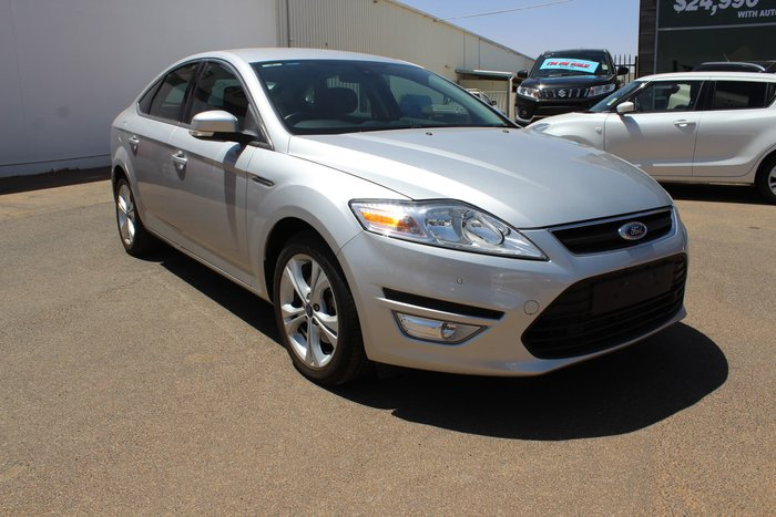 2012 Ford Mondeo Zetec EcoBoost MC Silver
