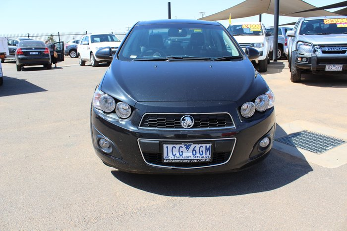 2013 Holden Barina CDX TM MY14 Black