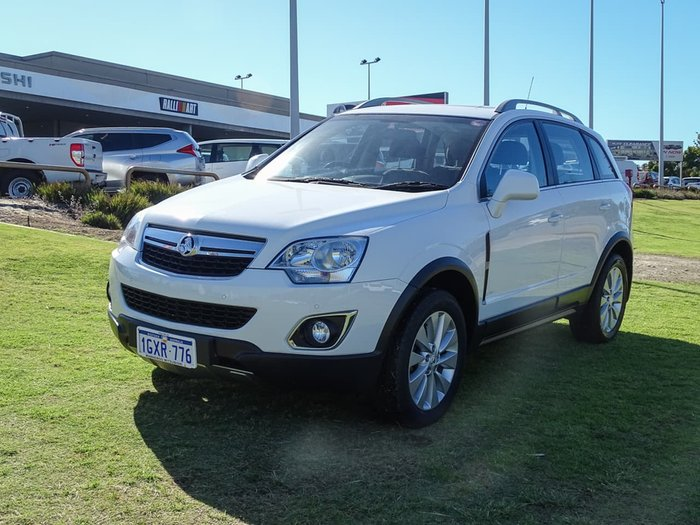 2015 Holden Captiva 5 LT CG MY15 White