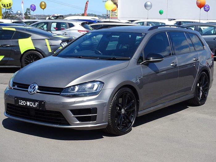 2015 Volkswagen Golf R Wolfsburg Edition 7 MY16 Four Wheel Drive Grey