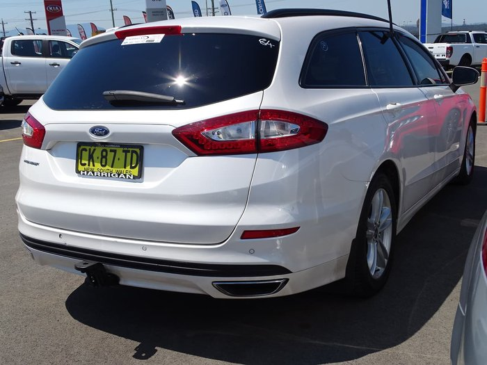 2017 Ford Mondeo Trend MD MY17 White