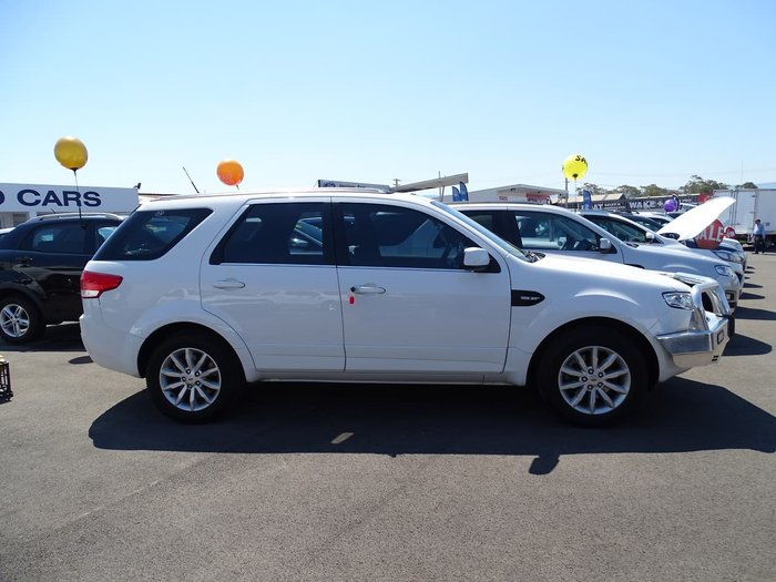 2016 Ford Territory TX SZ MkII White