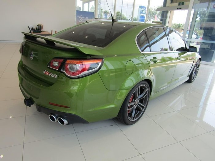 2015 Holden Special Vehicles Clubsport R8 GEN-F MY15 Green