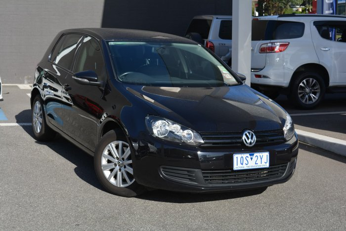 2011 Volkswagen Golf 90TSI Trendline VI MY12 Black