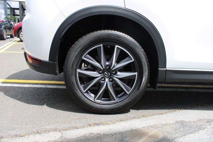 2018 Mazda CX-5 GT KF Series 4X4 On Demand White