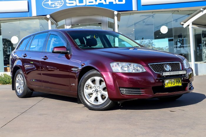 2013 Holden Commodore Omega VE Series II MY12.5 Maroon
