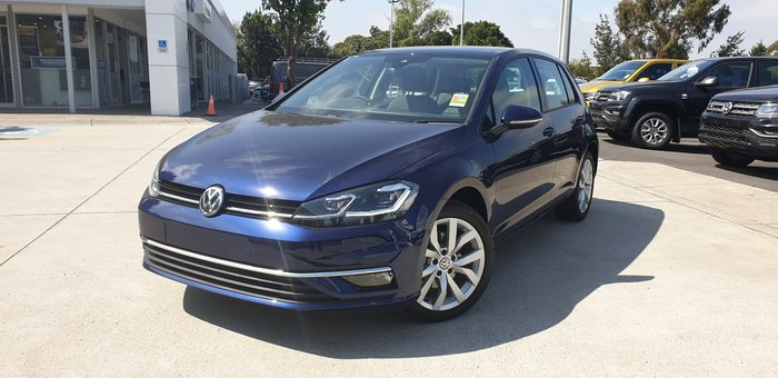 2019 Volkswagen Golf 110TSI Highline 7.5 MY20 Blue