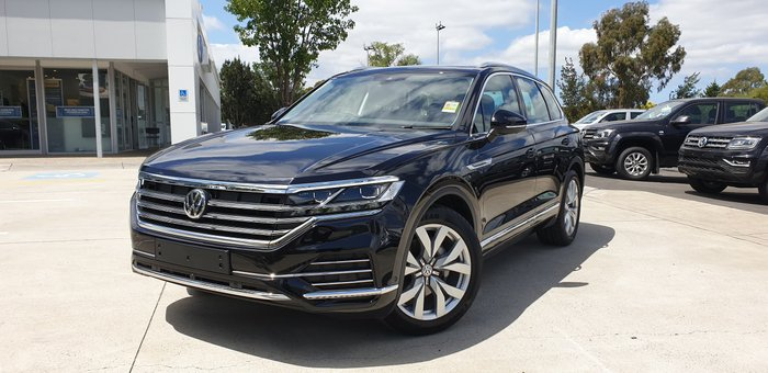 2019 Volkswagen Touareg 190TDI Premium CR MY20 Four Wheel Drive Black