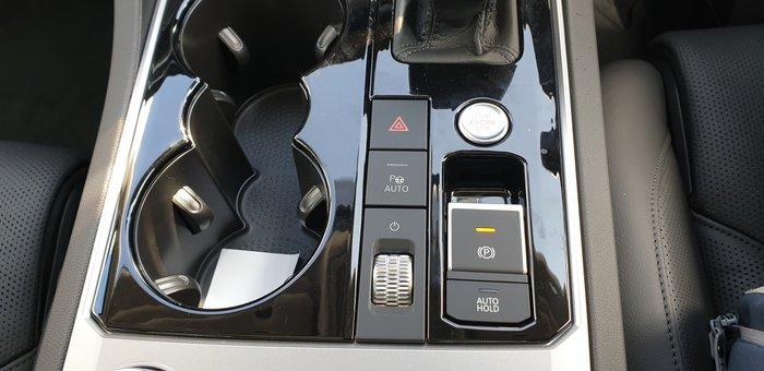 2019 Volkswagen Touareg 190TDI Premium CR MY20 Four Wheel Drive Black