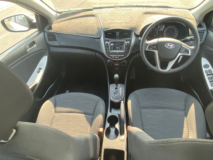 2016 Hyundai Accent Active RB4 MY17 White
