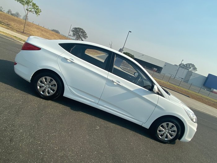 2016 Hyundai Accent Active RB4 MY17 White