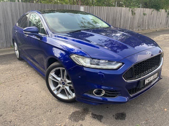 2017 Ford Mondeo Titanium MD MY17.5 Blue