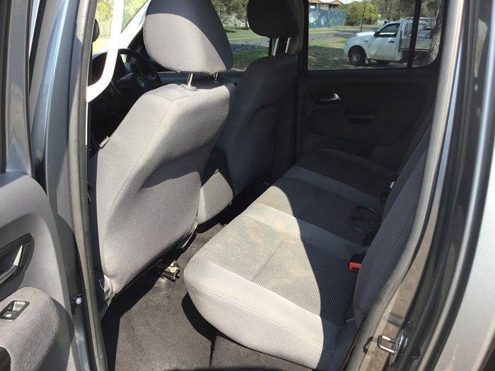2013 Volkswagen Amarok TDI420 Trendline 2H MY13 4X4 Constant Grey